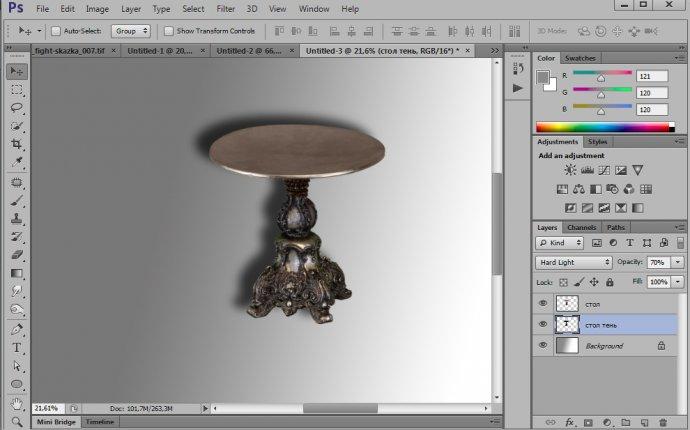 Как в Фотошопе сделать тень: alexey_soloviev