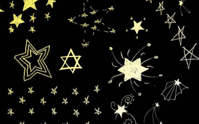 Кисти нарисованные звезды - Кисти - Photoshop файлы - Каталог