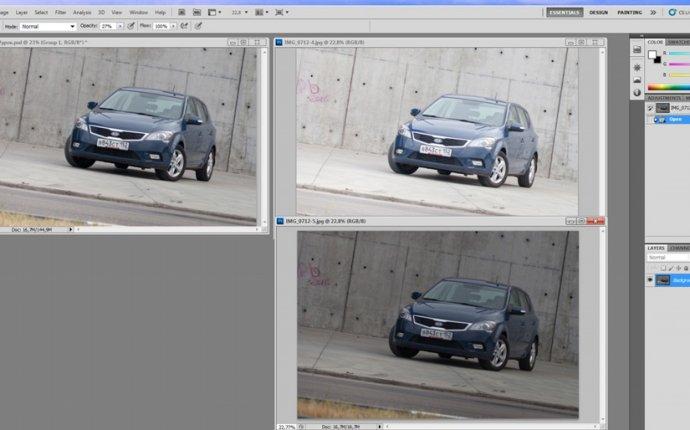 Обработка автомобильной фотографии (рисуем кузов автомобиля) — DRIVE2