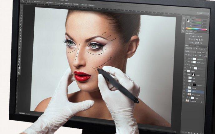 Ретушь лица в фотошопе онлайн с эффектами