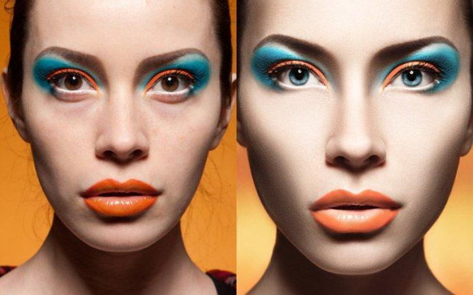 Ретушь портрета beauty в Photoshop