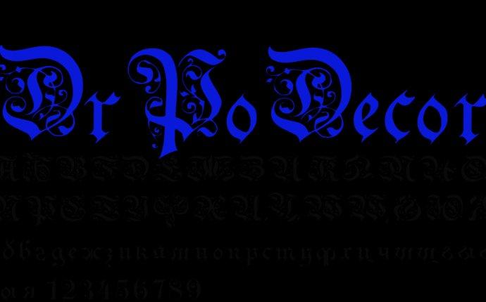 Скачать бесплатно красивый английский и русский шрифт для фотошопа